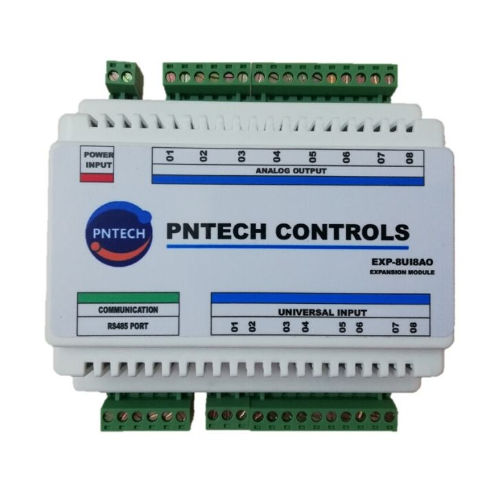 Bộ EXP-8UI8AO-IP - Modbus RTU 485 & TCP